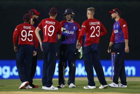 England Team T20 World Cup 2021