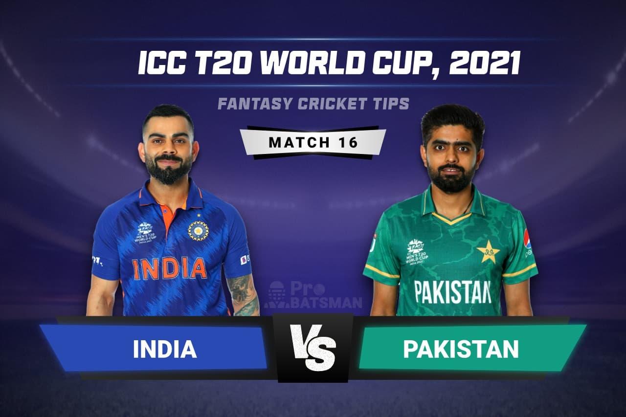 IND vs PAK Dream11 Prediction