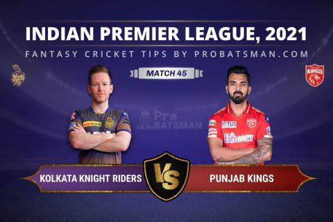 KKR vs PBKS Dream11 Prediction