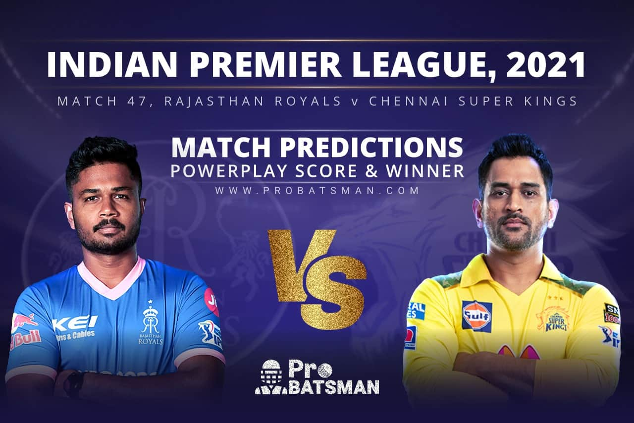RR vs CSK Match Prediction Who Will Win Today's Match