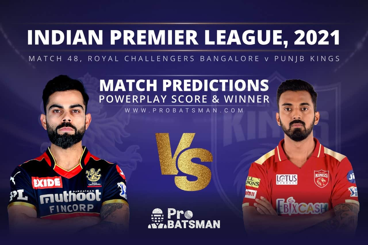 RCB vs PBKS Match Prediction Who Will Win Today's Match
