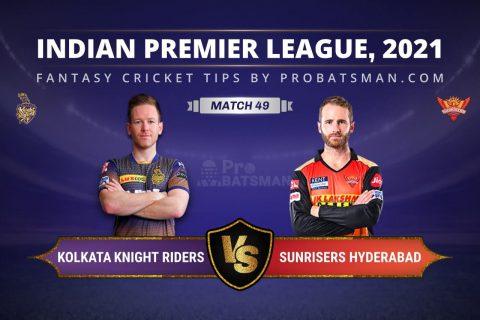 KKR vs SRH Dream11 Prediction