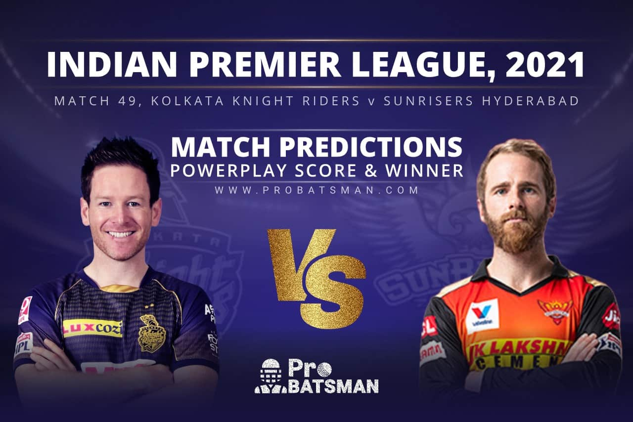 KKR vs SRH Match Prediction Who Will Win Today's Match