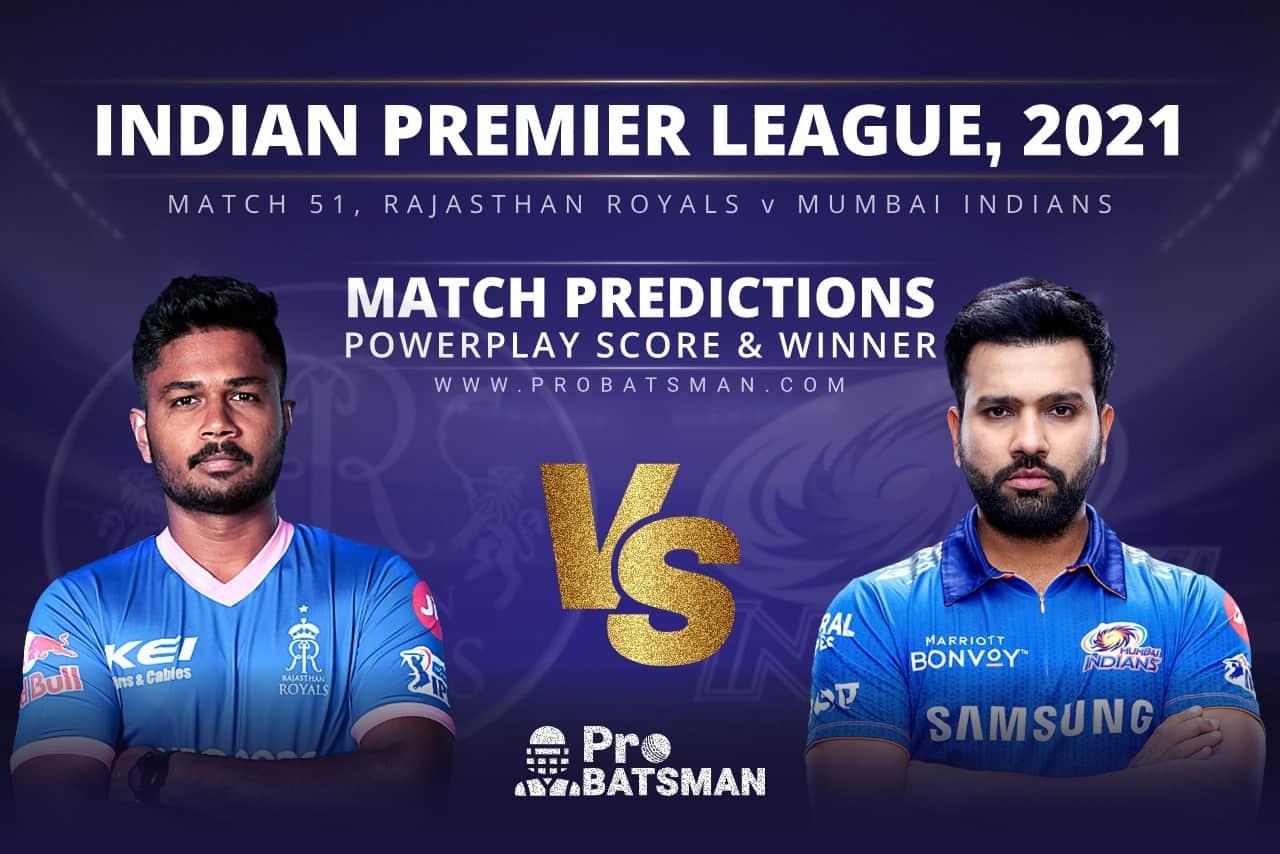 RR vs MI Match Prediction Who Will Win Today's Match