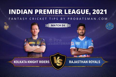 KKR vs RR Dream11 Prediction