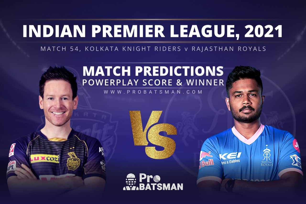 KKR vs RR Match Prediction Who Will Win Today's Match