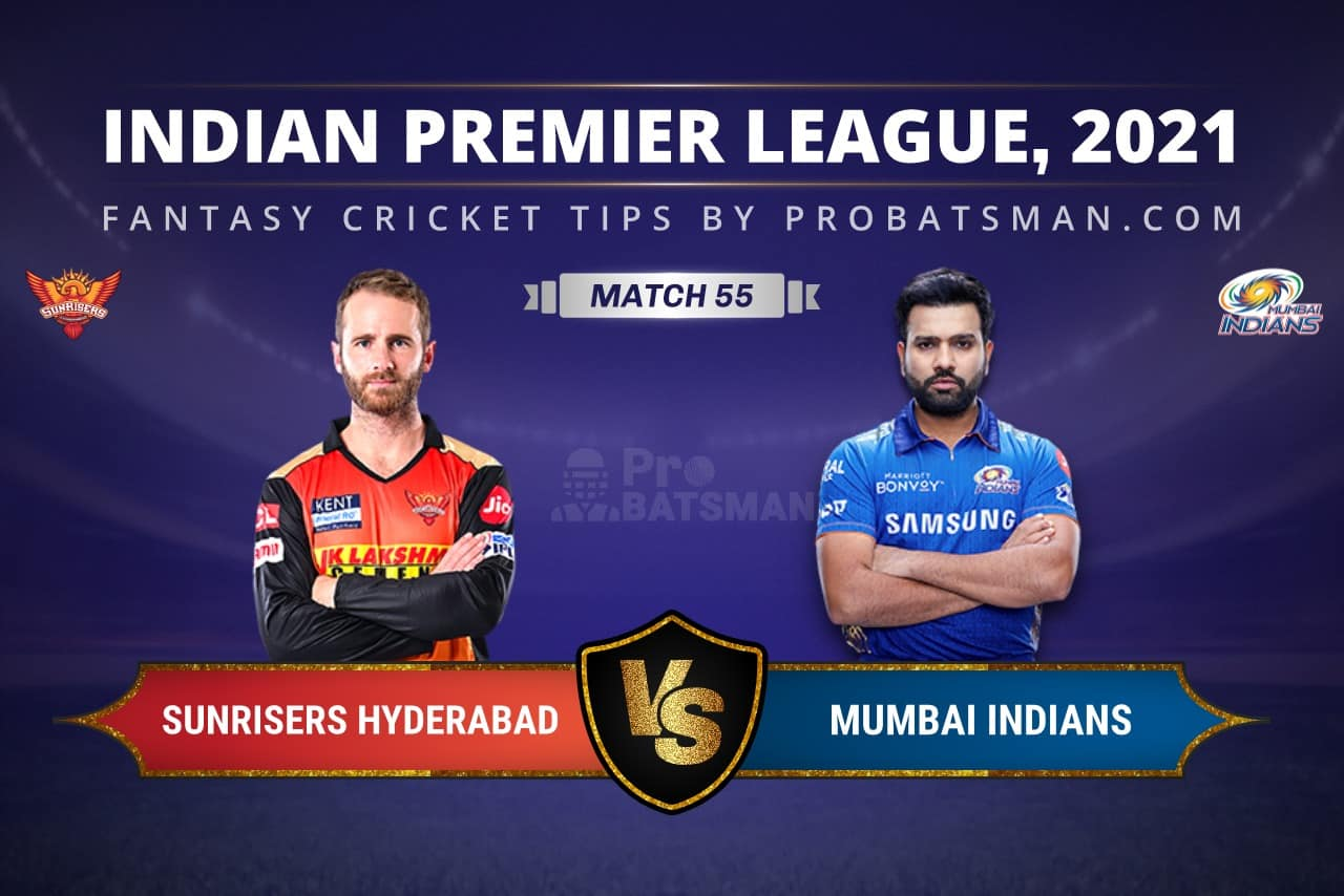SRH vs MI Dream11 Prediction