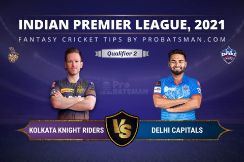 Qualifier 2, IPL 2021: DC vs KKR Dream11 Prediction