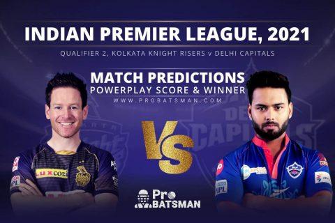 Qualifier 2, IPL 2021: DC vs KKR Match Prediction Who Will Win Today's Match Match Prediction Who Will Win Today's Match